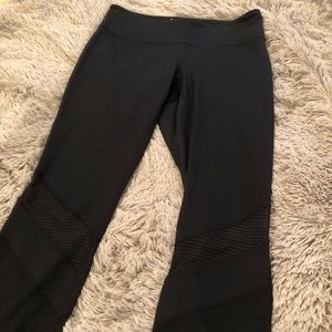 Zella black cutout leggings